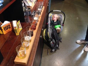 Obviously, we visited breweries. #57-63 for Tyler. He did his usual thing and conked out.