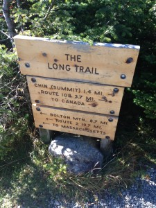 Saturday was beautiful and we set out for a long day in the mountains. We planned to hike the Long Trail from the top of the toll road to the summit of Mt Mansfield.