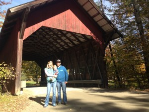 Covered bridges are very Vermont.