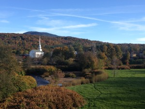 Picture-perfect Vermont.