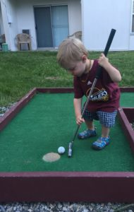 Golf...in the hole!