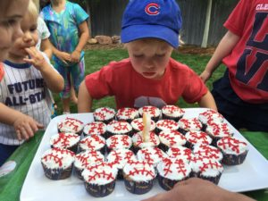 Tyler's 2nd Baseball Party